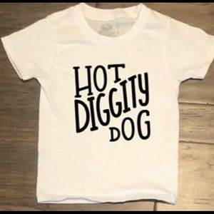 Other - Hot Diggity Dog Toddler Tee